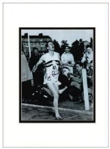 Roger Bannister Autograph Signed Photo - Four Minute Mile